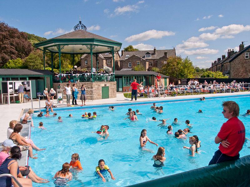 Hathersage swimming pool 75th anniversary photos - Hathersage open air swimming pool ...
