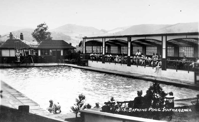 Hathersage swimming pool history and future hathersage - Hathersage open air swimming pool ...