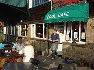 pool cafe banner