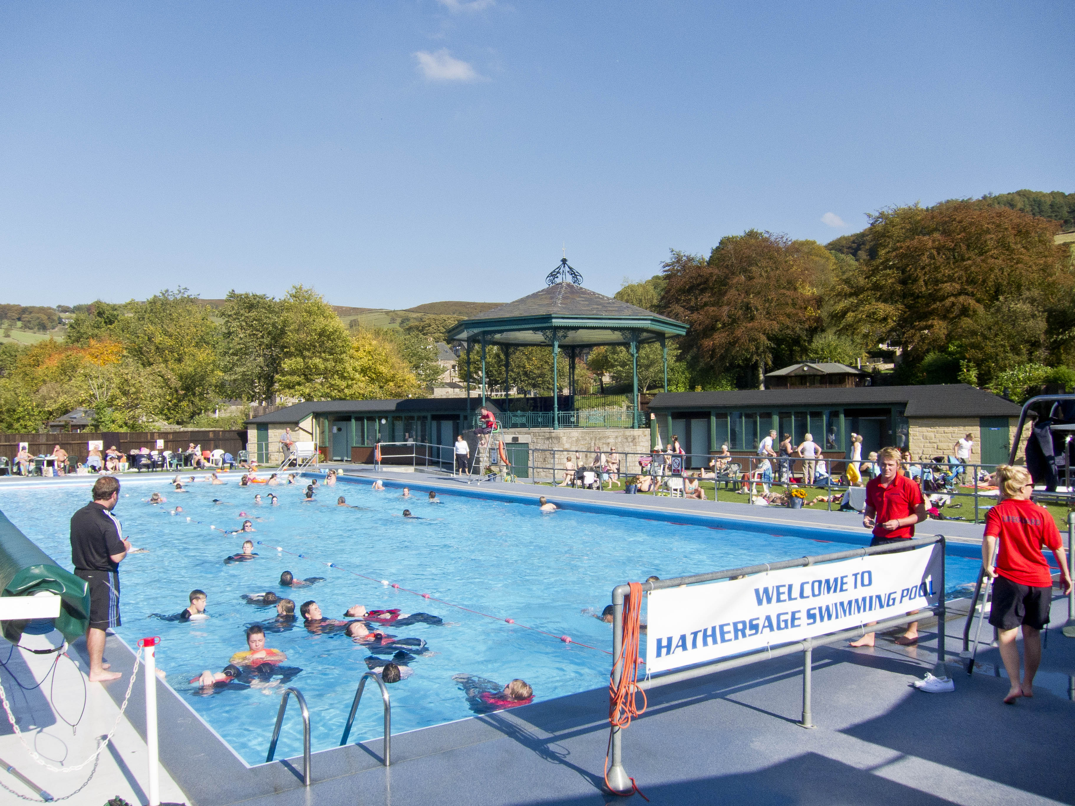 Hathersage Swimming Pool Hathersage Outdoor Swimming Pool